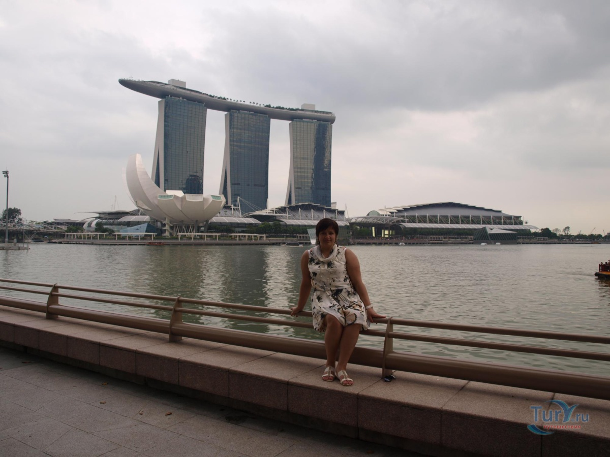 Фото « Marina Bay Sands» из фотогалереи «Март 2013. Сингапур и Индонезия через Вьетнам» Азия