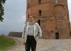 Фото туриста. У башни Гедемина