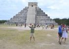 Фото туриста. Чичен-Ица.Пирамида Кукулькана