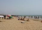 Фото туриста. местные на пляже