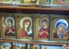 Фото туриста. Иконы Пресвятой Богородицы из янтаря