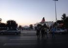 Фото туриста. Выход с ж/д станции Patras на центральную улицу города