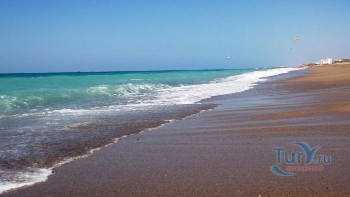 Турция aperion beach hotel kizilot 4 пляж у отеля