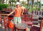 Фото туриста. Кафе в порту Хаммамет-Ясмин