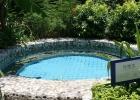 Фото туриста. горячий бассейн