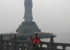 Фото туриста. центр буддизма Наньшань