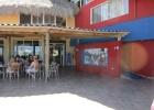 Фото туриста. Вход в пляжный ресторан