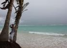 Фото туриста. океан бушует. Доминикана плачет!! мы улетаем домой!!!