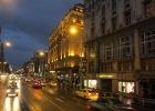Фото туриста. ночной Будапешт