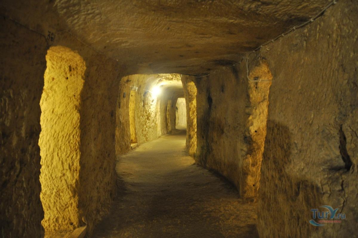 мальтийские катакомбы фото антресоли