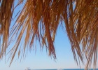 Фото туриста. вид из пляжного ресторана