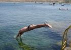 Фото туриста. альтернативный спуск в воду