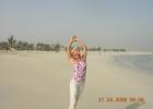 Фото туриста. Раннее утро в Дубае(пляж)