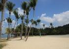 Фото туриста. Остров Сентоза. Пляж Tanjong.