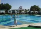 Фото туриста. бассейн внутри отеля