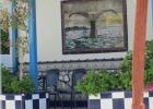 Фото туриста. кафе у бассейна, как же я люблю такую испанскую плитку