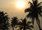 Фото туриста. Закат. Пляж Вагатор.