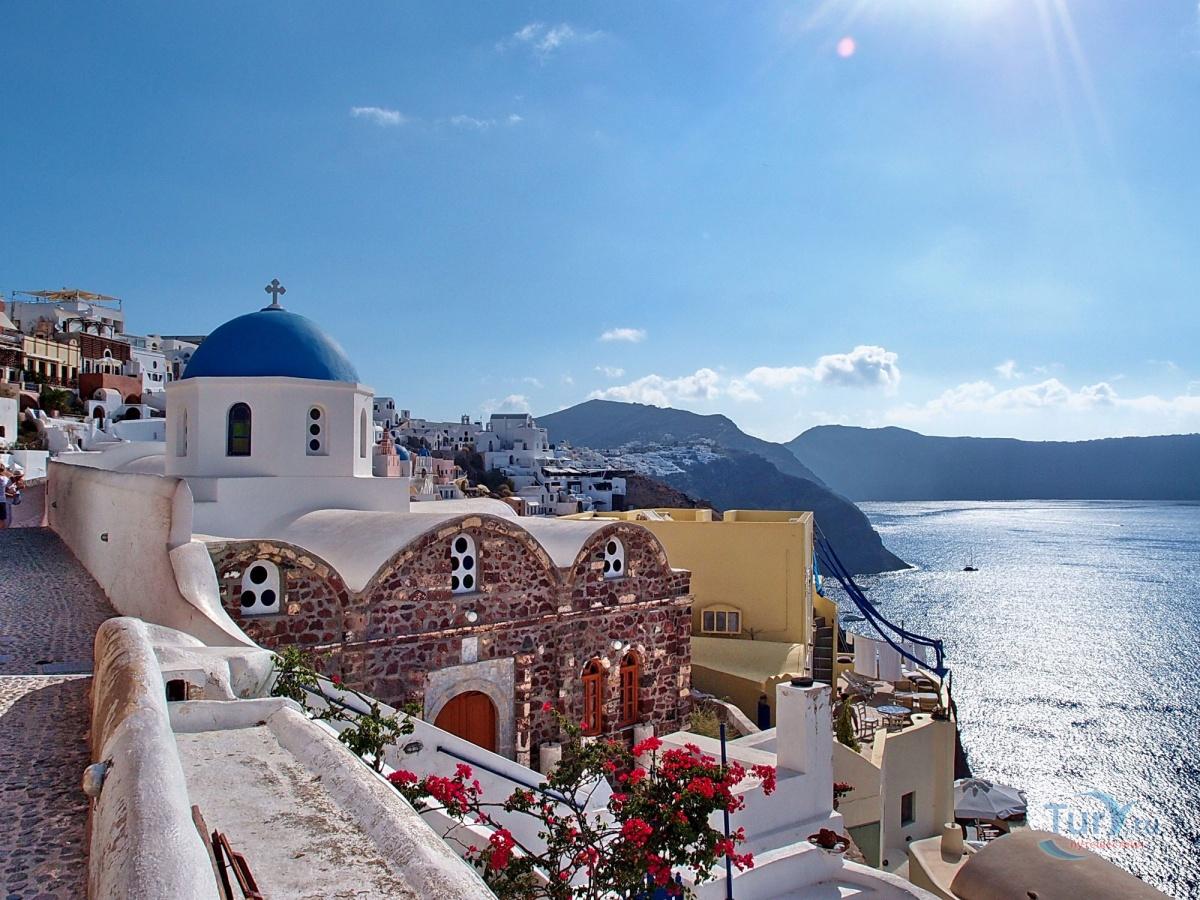 санторини греция фото отзывы туристов одной стороны прекрасный