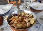 Фото туриста. сковородочка морепродуктов