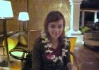 Фото туриста. так встречают на Бали:)
