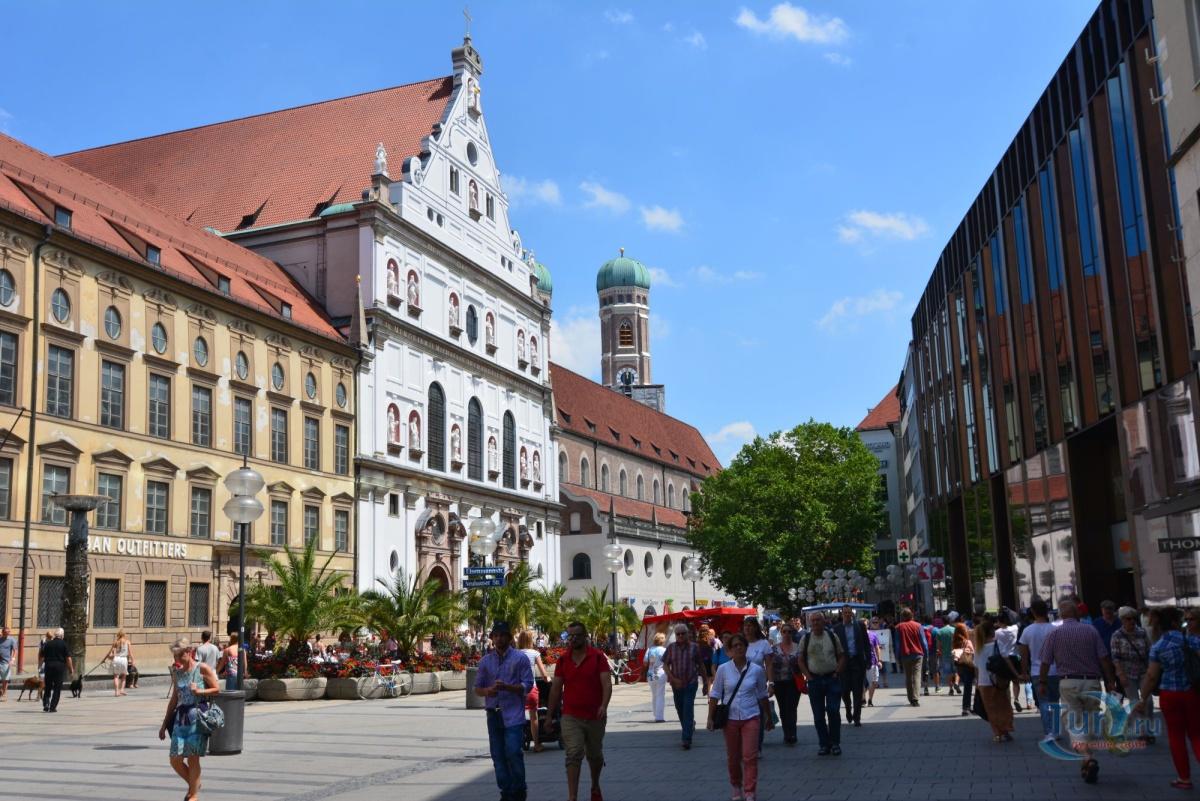 Мюнхен Инсбрук как добраться на поезде или автобусе