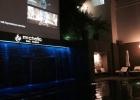 Фото туриста. вечерний бассейн