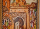 Фото туриста. картина ,на память о Марракеше