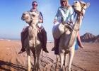 Фото туриста. Прогулка на верблюдах по пустыне
