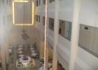 Фото туриста. холл общего корпуса со столовой внизу
