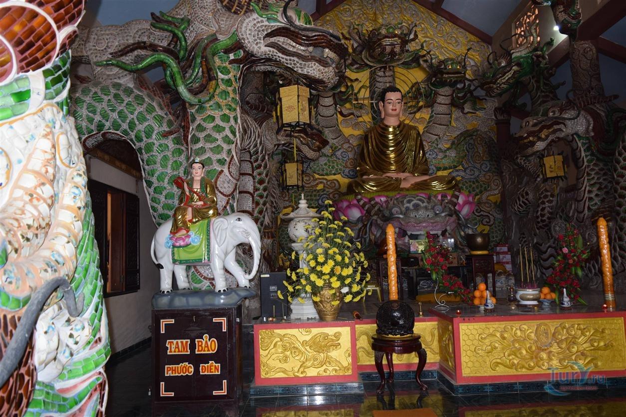 музыка из буддийского храма во вьетнаме - 8