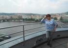 """Фото туриста. Любуюсь Прагой с крыши """"Танцующего дома"""""""