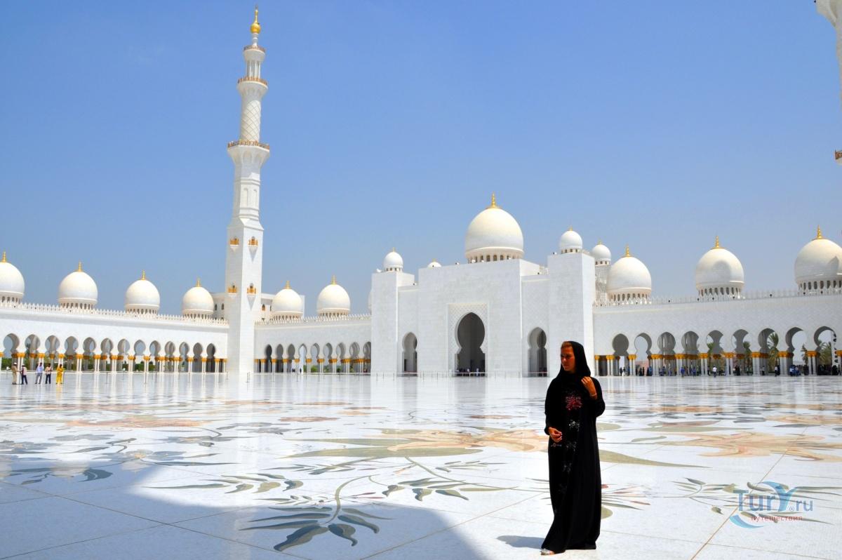 каждую экскурсия в абу даби фото туристов мечети цитруса