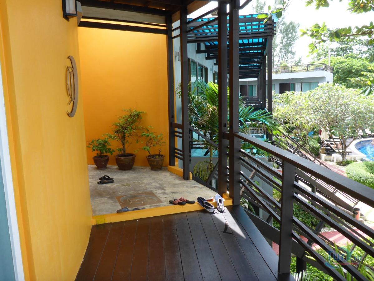 Таиланд фото из балкона отеля