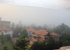 Фото туриста. утренний туман в ГОА
