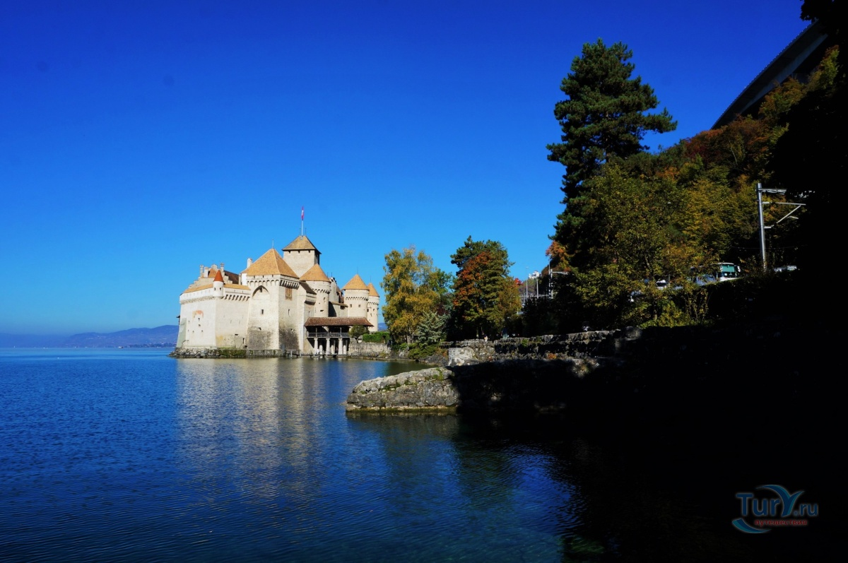 Фото «Chateau de Chillon» из фотогалереи «Montreux» Швейцария , Монтре