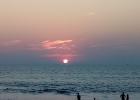 Фото туриста. Пляж Кандолим. Закат