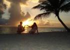 Фото туриста. Закат. Пляж рядом с Сёрф-кафе