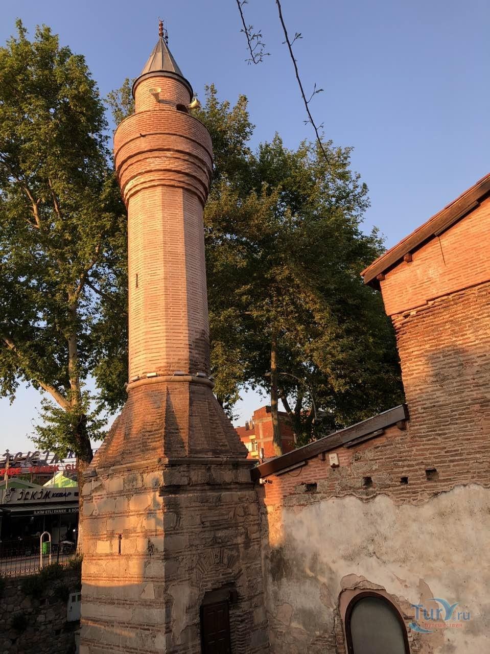 Фото «Пристроенный к Святой Софии минарет» из фотогалереи «Никея» Турция , Изник