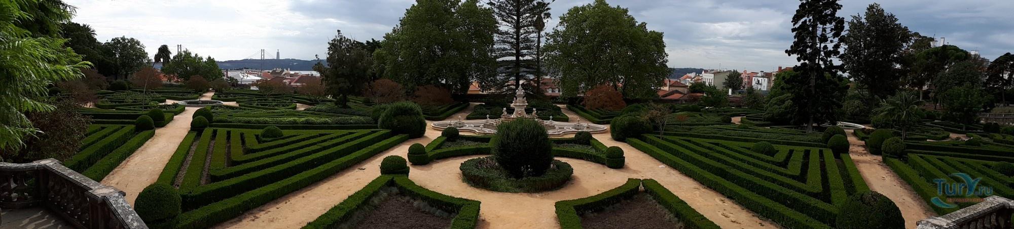 Ботанический Сад Лиссабона | 453x2000