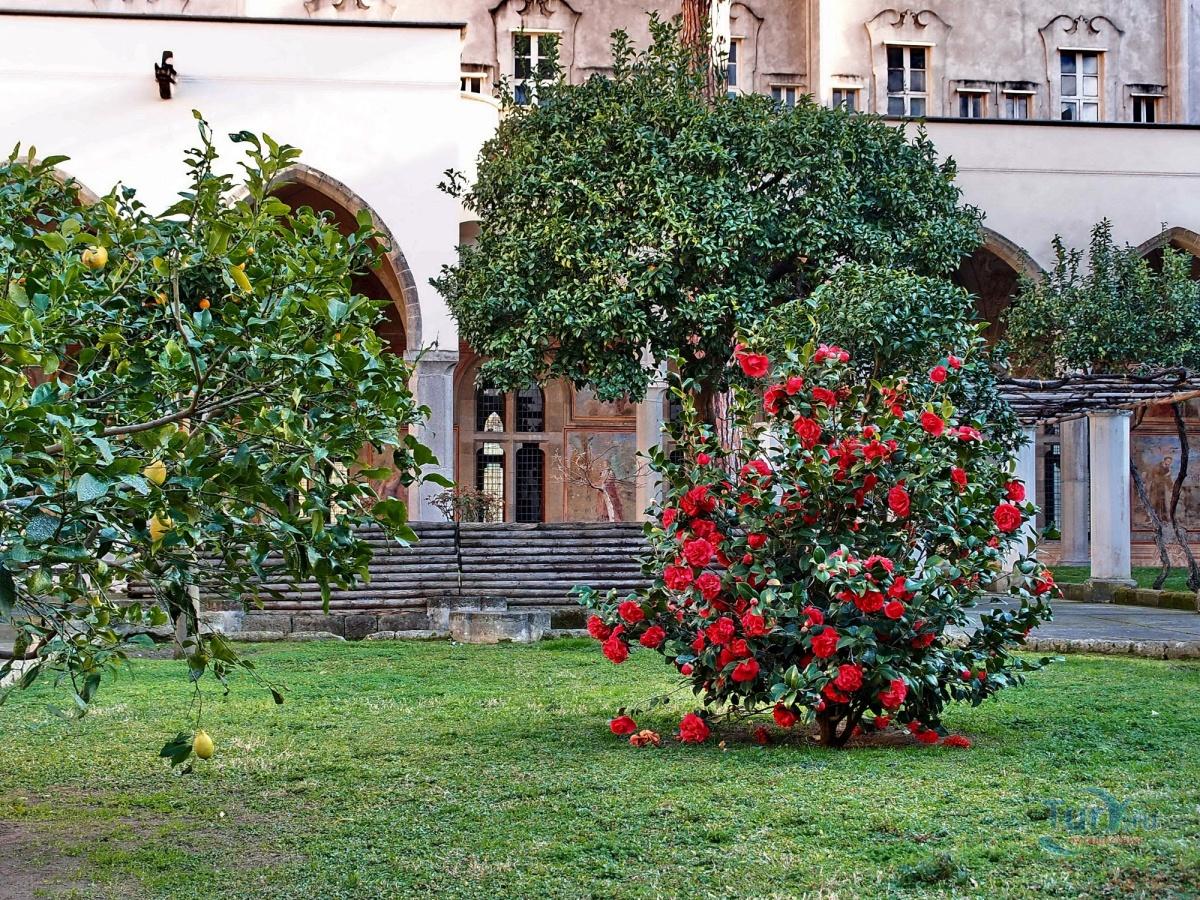 Монастырь санта кьяра в неаполе фото картинки