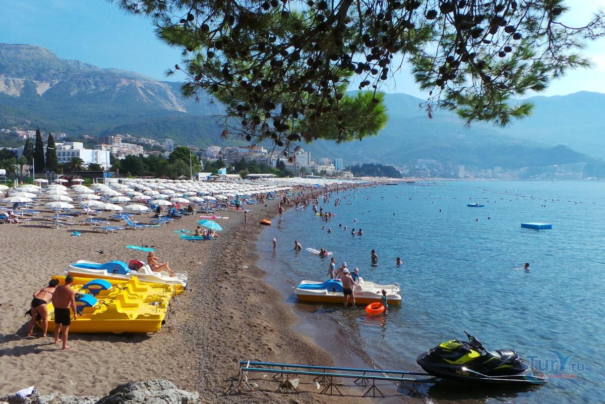 Бечичи черногория пляж фото туристов