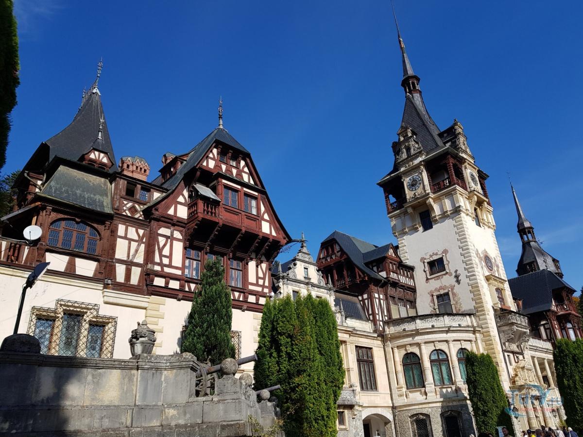 Замок пелеш румыния фото доехать из брашова