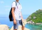 Фото туриста. Ко Нанг Юань. Наш чемпион!