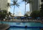 Фото туриста. Вид на отель PIC Guam от бассейна