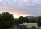 Фото туриста. вид с балкона: восход солнышка!