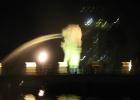 Фото туриста. ночной Сингапур