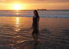Фото туриста. закат в Куте