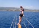 Фото туриста. На морской прогулке