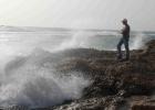 Фото туриста. утро на пляже СИ КЛАБ