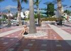 Фото туриста. Вид на бассейн со стороны моря.